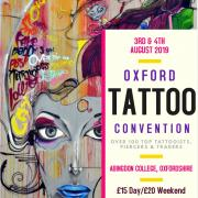 10th Oxford Tattoo Convention