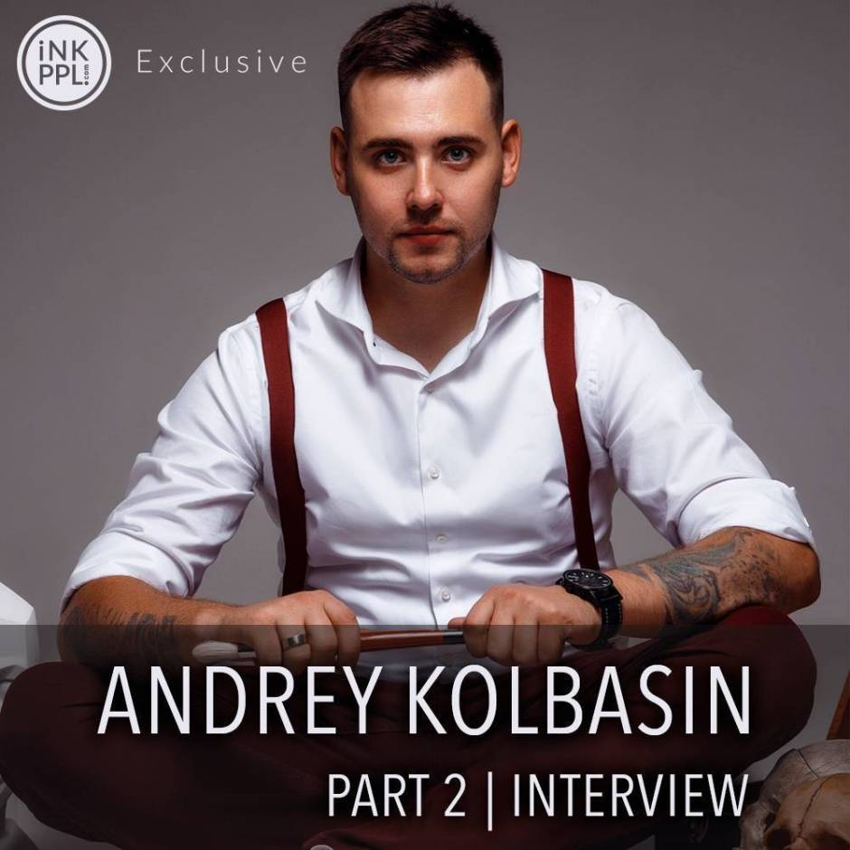 Interview. Andrey Kolbasin | 2 Part