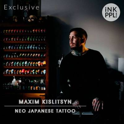 Interview. Maxim Kislitsyn - Neo Japanese tattoo