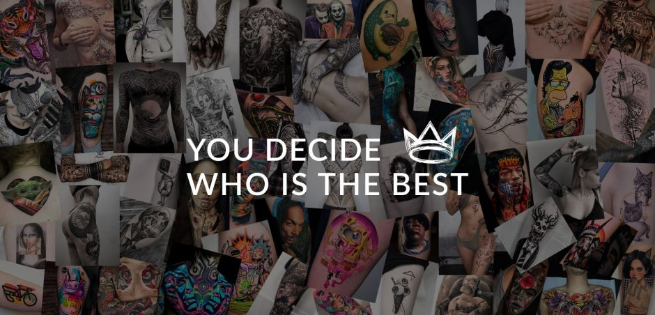 You decide who is the Best Tattoo Artist!
