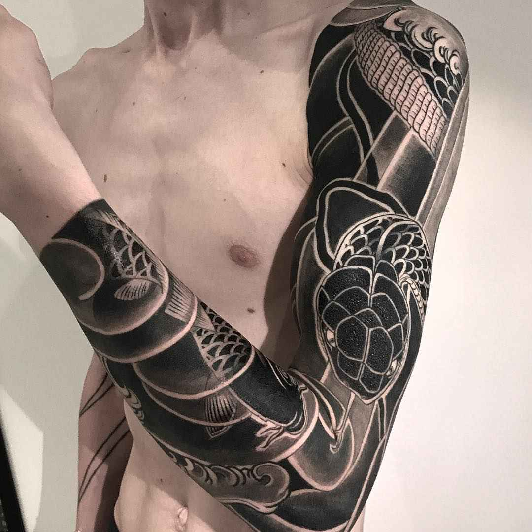 Japanese traditions in tattoo by lupo horiokami inkppl for Best tattoo artist in tokyo