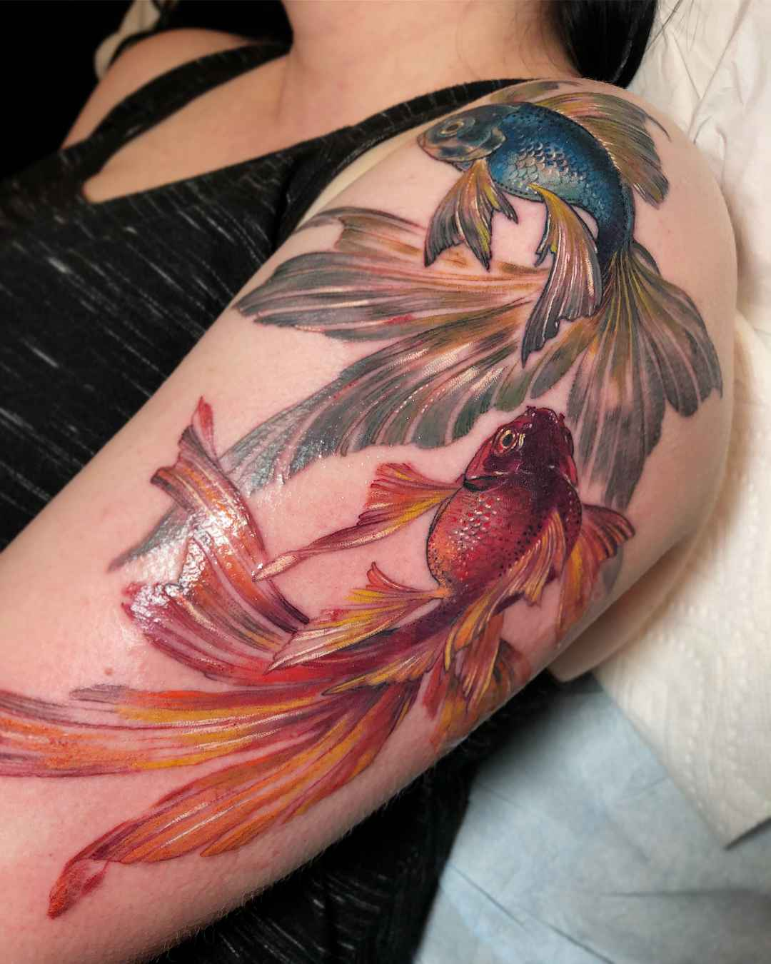 Tattoo artist Stephanie Brown