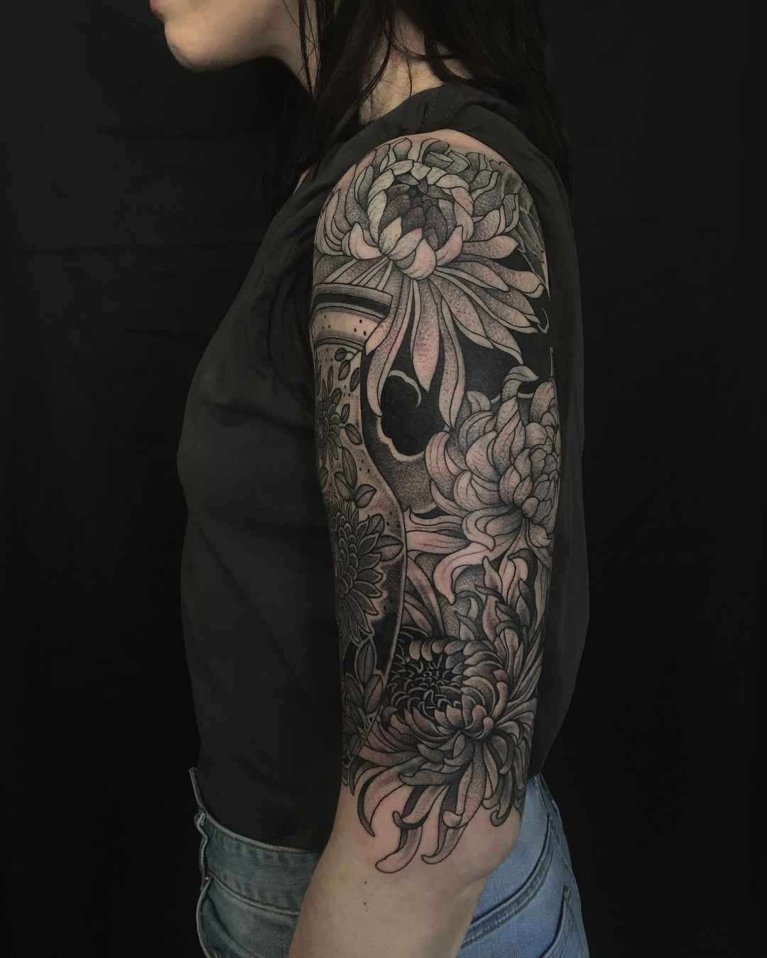 33bf609659427 ... Tattoo artist Richard Warnock , tradition and neo tradition blackwork  tattoo | Auckland, ...