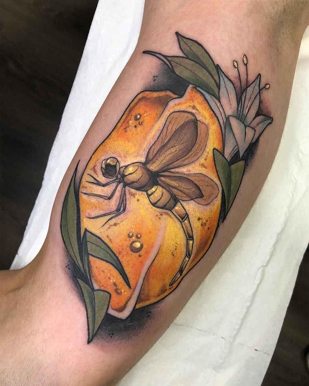Neo Traditional Tattoo Raquel Escudero