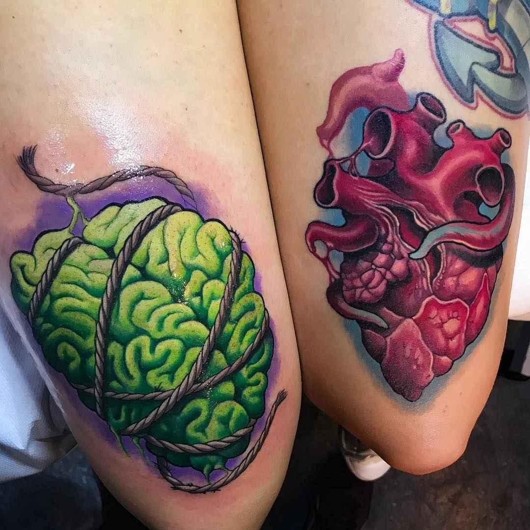 80 Bright Color Tattoo Design Ideas: Bright Color Tattoos By Andrea Antikorpo Lanzi