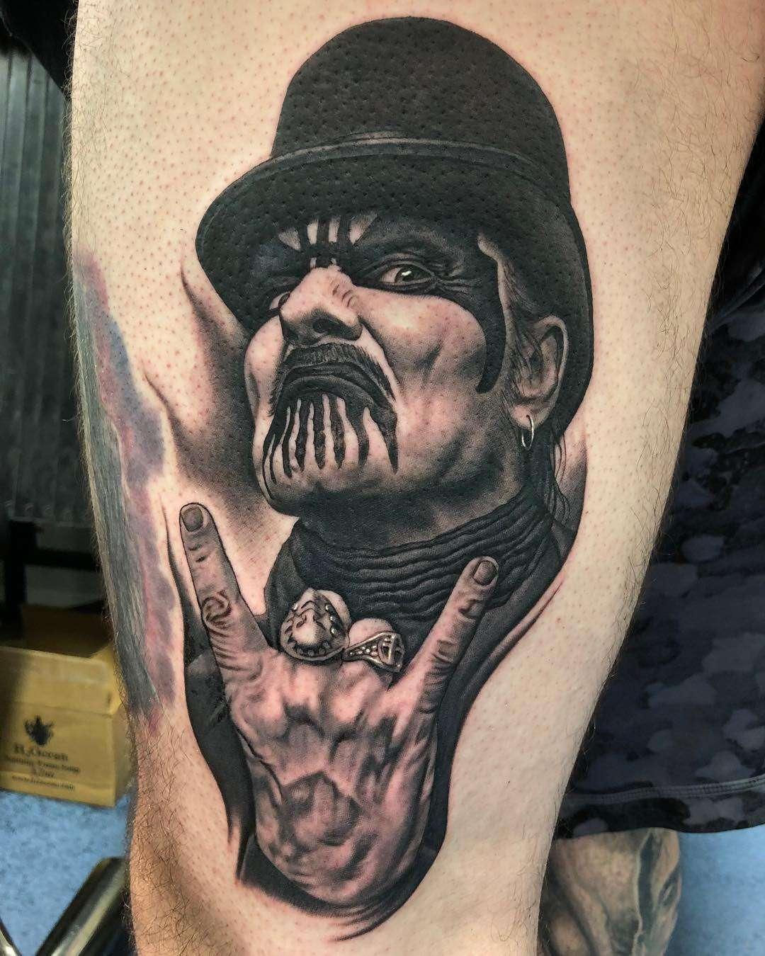 Musician And Tattoo Artist Bob Tyrrell