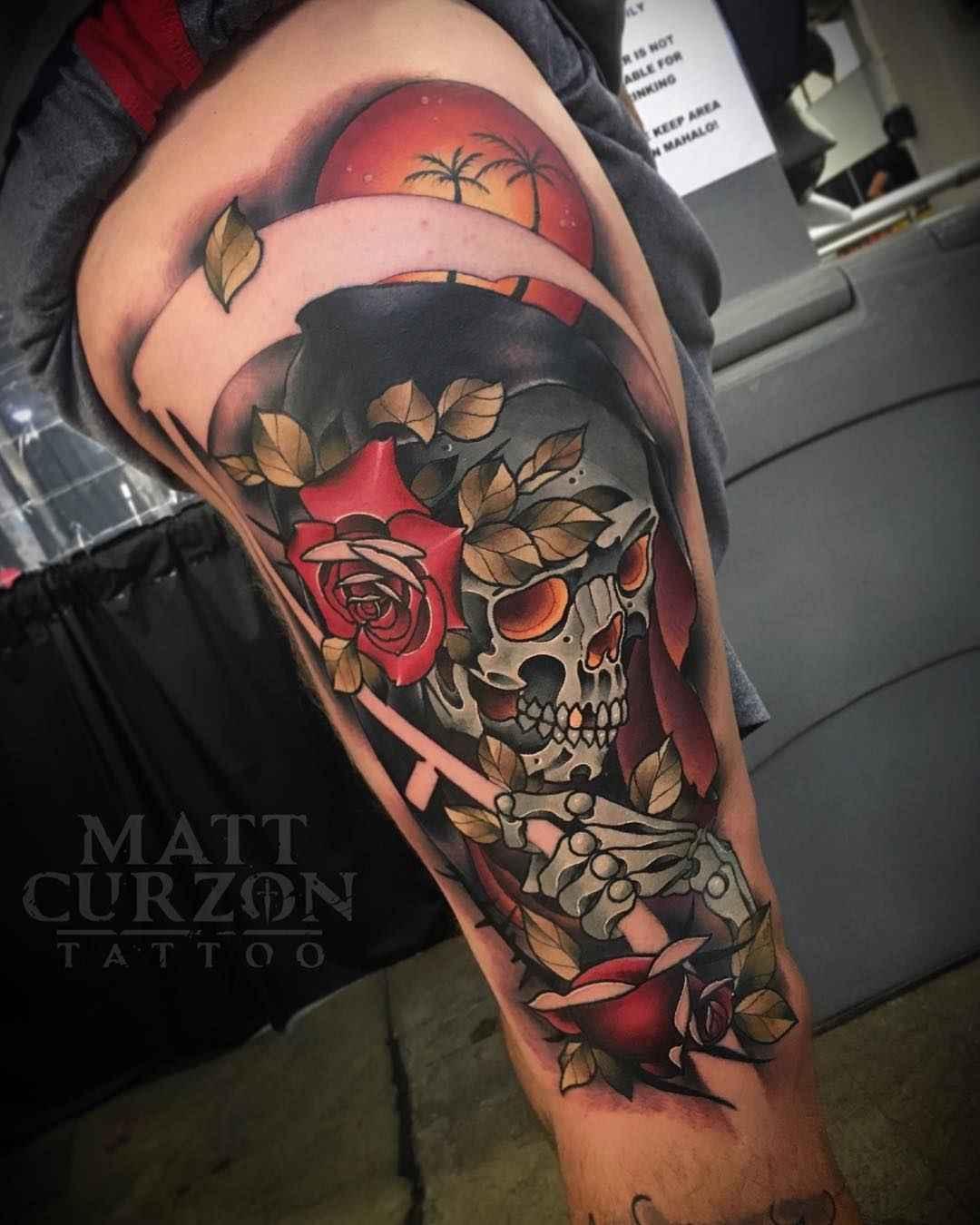 Color Tattoo By Matt From Black Sails Tattoo: Tattoo Artist Matt Curzon
