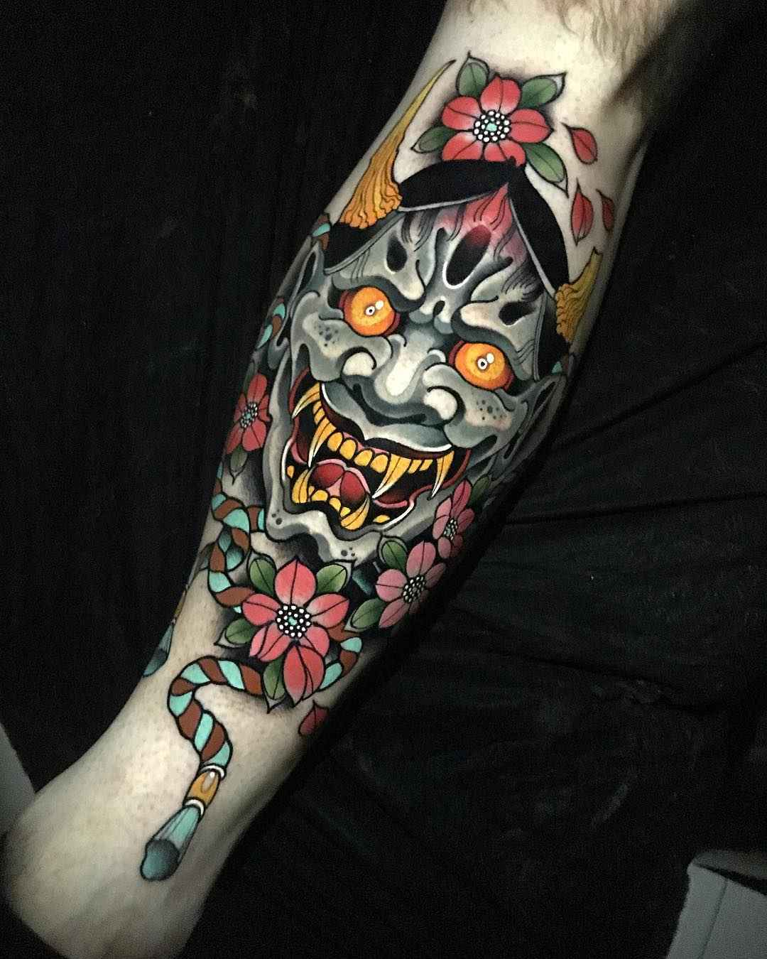 Neo Japanese Tattoo: Neo Traditional Tattoo By Johnny Domus Mesquita