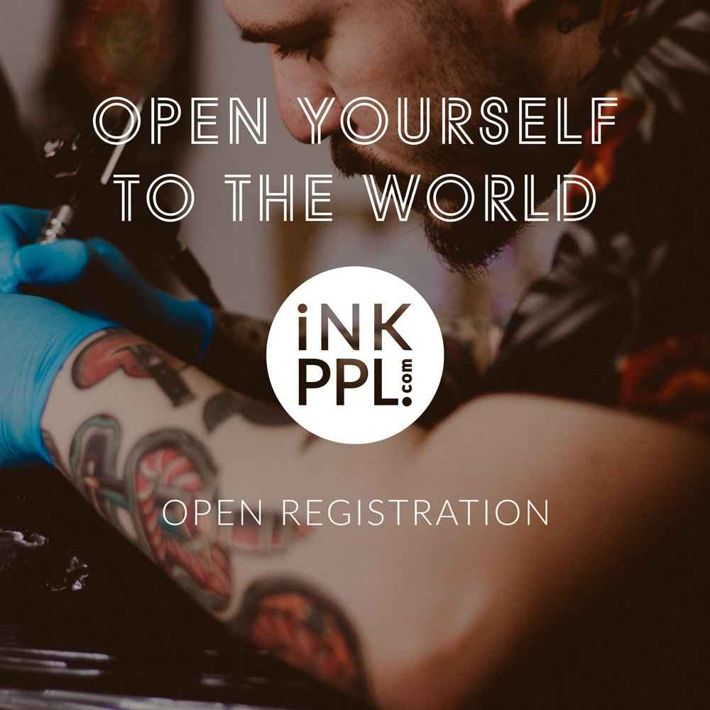 free rgistration on iNKPPL International Tattoo Magzine