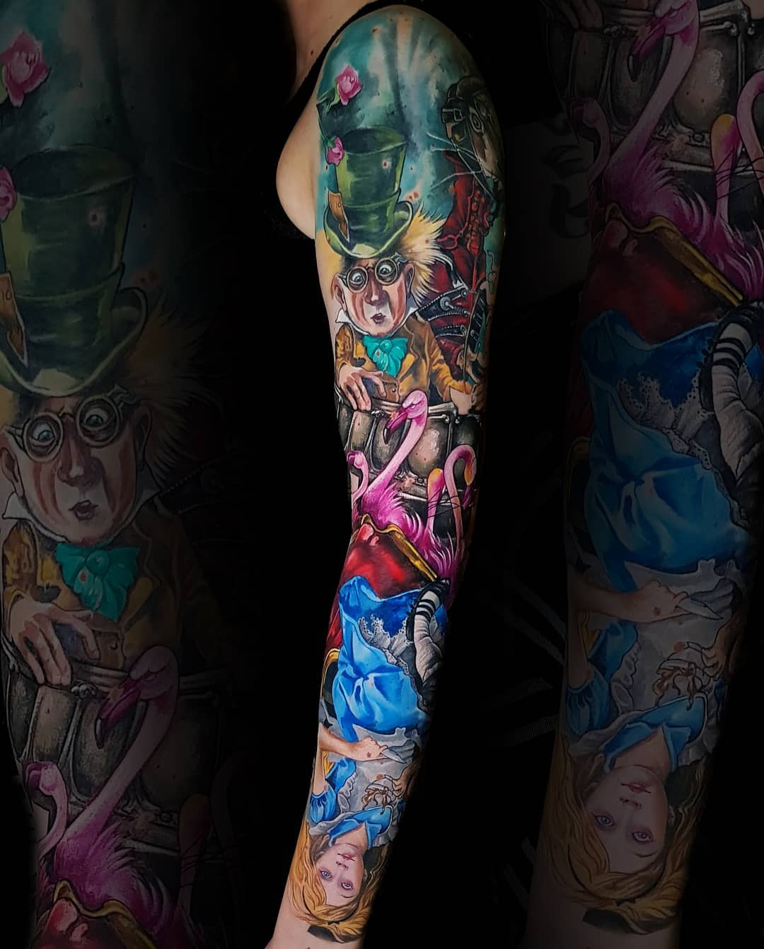 15 amazing New school sleeve tattoos