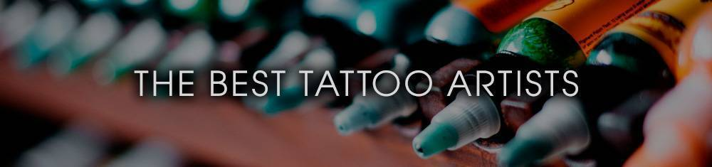 The best tattoo artists