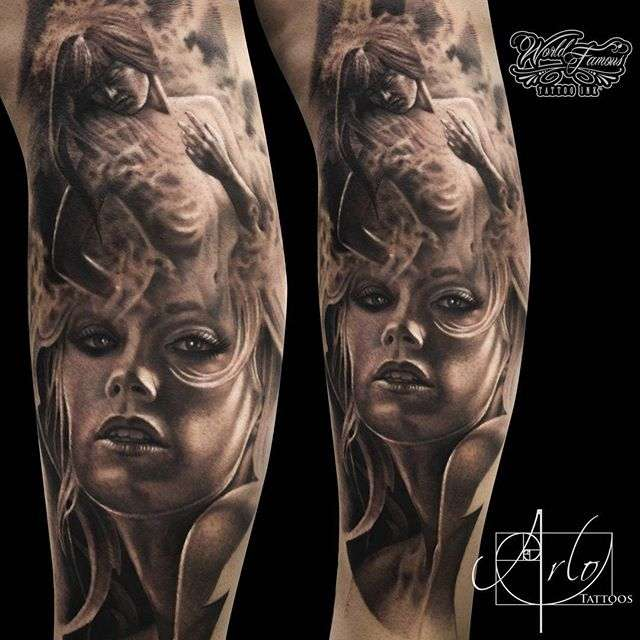 Mysterious motives in the works of arlo dicristina for Arlo tattoo artist
