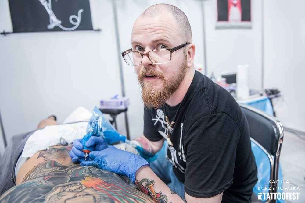 12th Tattoofest convention in Krakow | 2 день