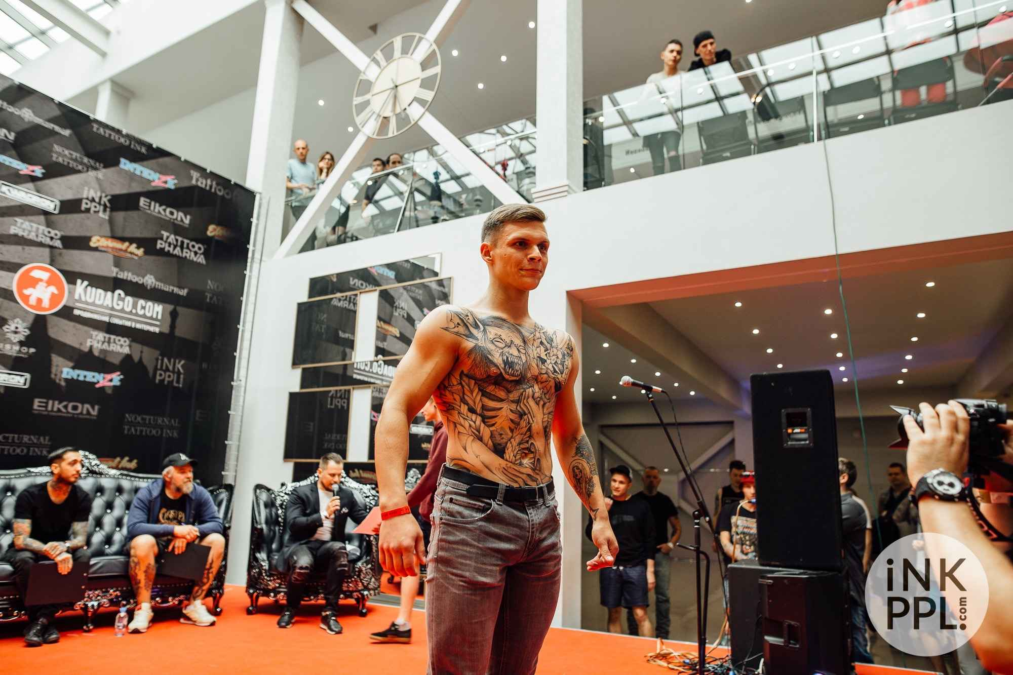Moscow International Tattoo Week 2017 | 1 день