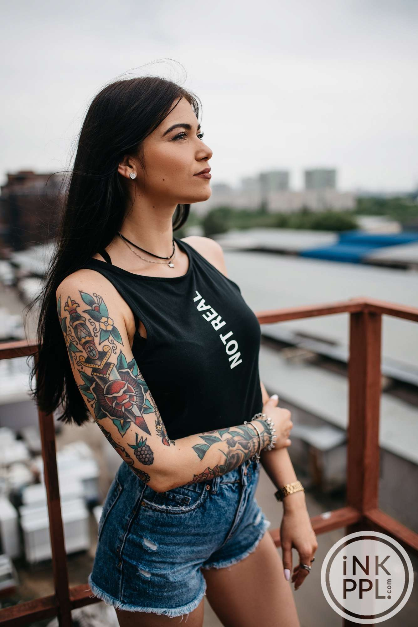 Today we want to present to you an article dedicated to the winner of the International Moscow Tattoo Week 2018's contest, which took place in the social networks accounts of the event. Please, meet - Anastasia Svechnikova.