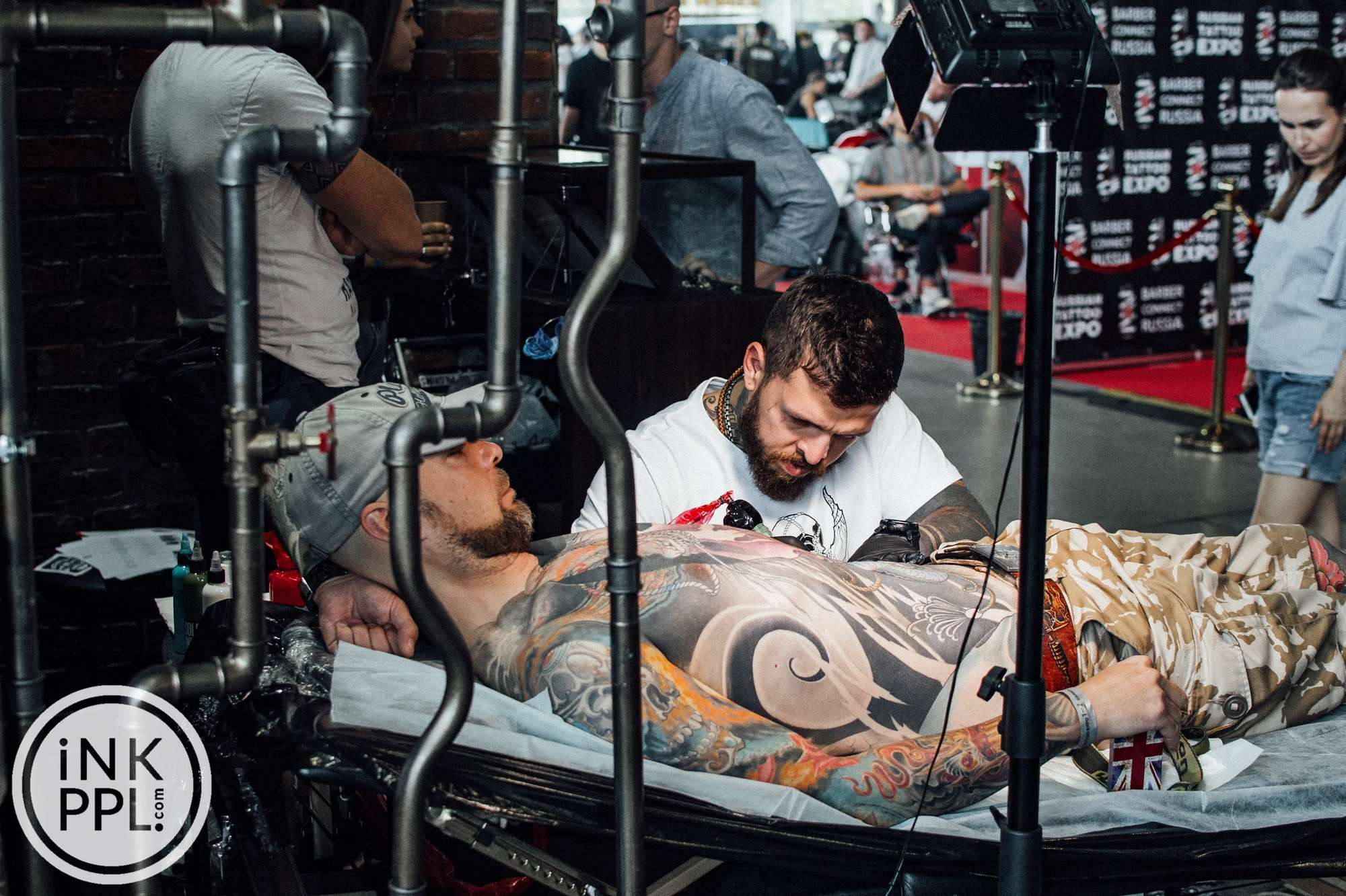 Russian Tattoo Expo / Barber Connect Russia