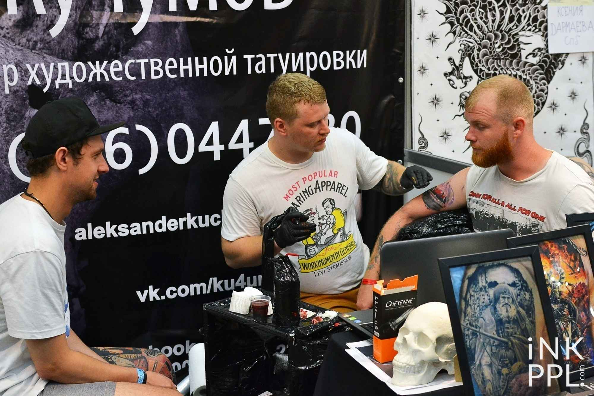 Moscow International Tattoo Week 2016
