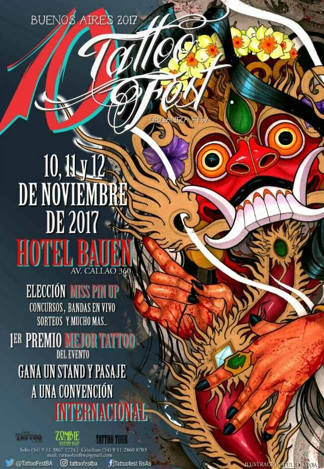 10th Tattoo Fest Buenos Aires