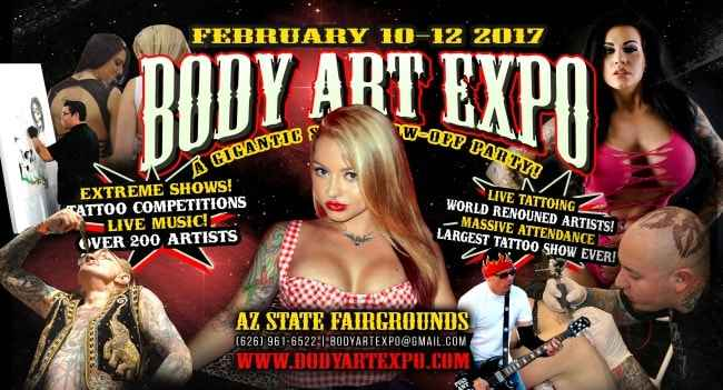 Body art expo