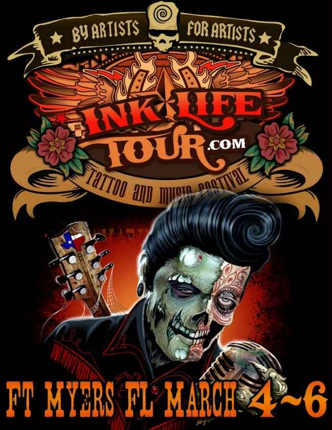 Ink life tour fort myers for Tattoo fort myers