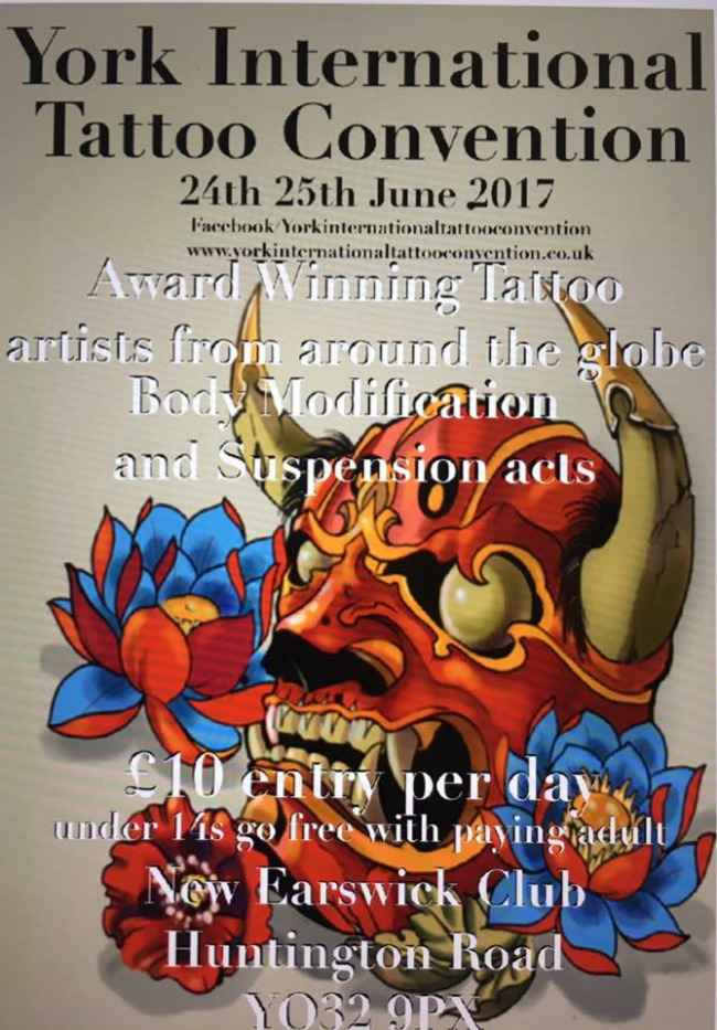 York international tattoo convention for Upcoming tattoo conventions